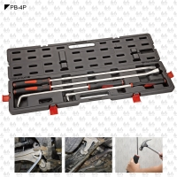 4 PCS HEAVY DUTY IMPACT PRY BAR SET