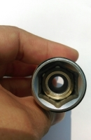 MAGNET SOCKET FOR SPARK PLUG WITH SPECIAL SPRING DESIGN