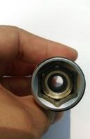 MAGNET SOCKET FOR SPARK PLUG WITH SPECIAL SPRING DESIGN