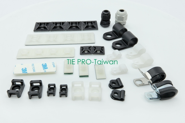 Wire Accessories- cable clamp, hose clamp, OEM plastic injection