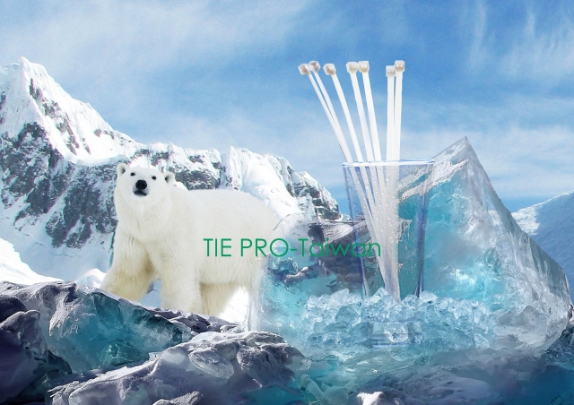 Anti Cold Cable Tie -40 degree C