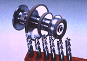 CNC钨钢铣刀研磨砂轮