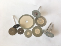 Electroplated saw blades