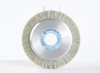 Diamond brush wheel