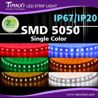 Cens.com Waterproof SMD 5050 LED Flexible Light Strip-Single Color TIANXI OPTOELECTRONIC TECHNOLOGY CO., LTD.