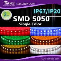 Waterproof SMD 5050 LED Flexible Light Strip-Single Color