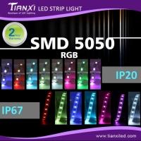 防水SMD 5050 LED软灯带- RGB