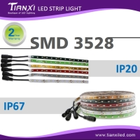 IP67 / IP20 SMD 3528 LED Flexible Light Strip