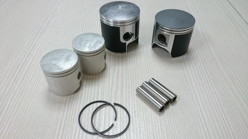 Piston, Ring, Pin, Clip