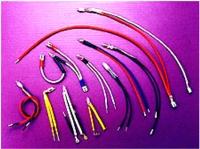 氖灯加工:氖灯+电阻+电线+套管