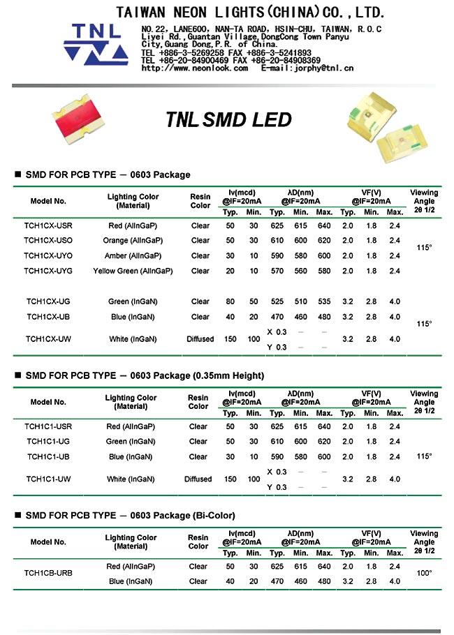 TNL SMD LED