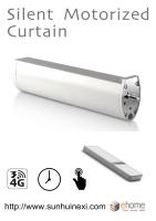 Smart Silent Motorized Curtain Device