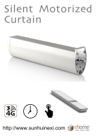 Smart Silent Motorized Curtain Device