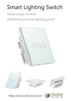 ES3 Smart Lighting Switch 3 loops