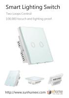 ES3 Smart Lighting Switch 2 loop