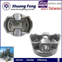 forged aluminium LC135 engine auto parts piston