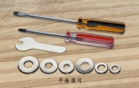 Screwdrivers, Screws, Fasteners, Washers, Wrenches