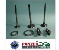 Valves, Valve guides, Valve seats