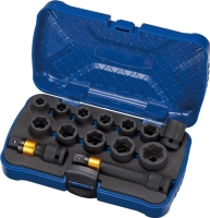 14 PCS NON-SLIP IMPACT SOCKET SET