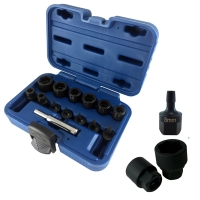 14 PCS NON-SLIP SOCKET SET