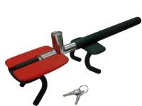 Pressing-type Four Hooks Theft-proof Steering Wheel Lock