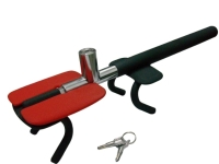 Pressing-type Four Hooks Theft-proof Steering Wheel Lock