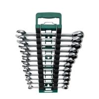12PCS Combination Ratchet Wrench