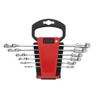 6PCS Combination Ratchet Wrench