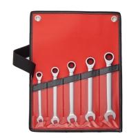 5PCS Combination Ratchet Wrench