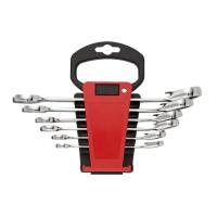 6PCS Reversible Combination Ratchet Wrench