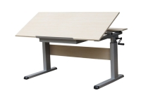Height adjustable table frame