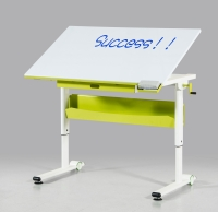 Writing board & tilted moving by casters