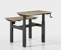 Double side desk