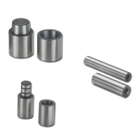 Pilot Pins, Return Pins, Guide Bushes, Bushings, Guide Posts, Puller Bolts