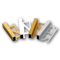 鋁合金修邊條系列:鋁合金方形修邊條