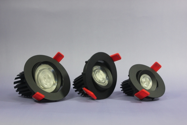 LED DOWNLIGHT-ACCENT GIMBAL 50/70/90