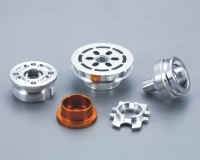 Parts processed with CNC multi-tasking turning center