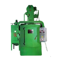 HANG SWIVEL TYPE SHOT BLASTING M/C