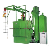 RAIL CHAIN HOIST TYPE SHOT BLASTING M/C