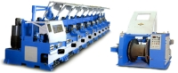 STRAIGHT LINE WIRE DRAWING MACHINE WITH COMPUTER CONTROL