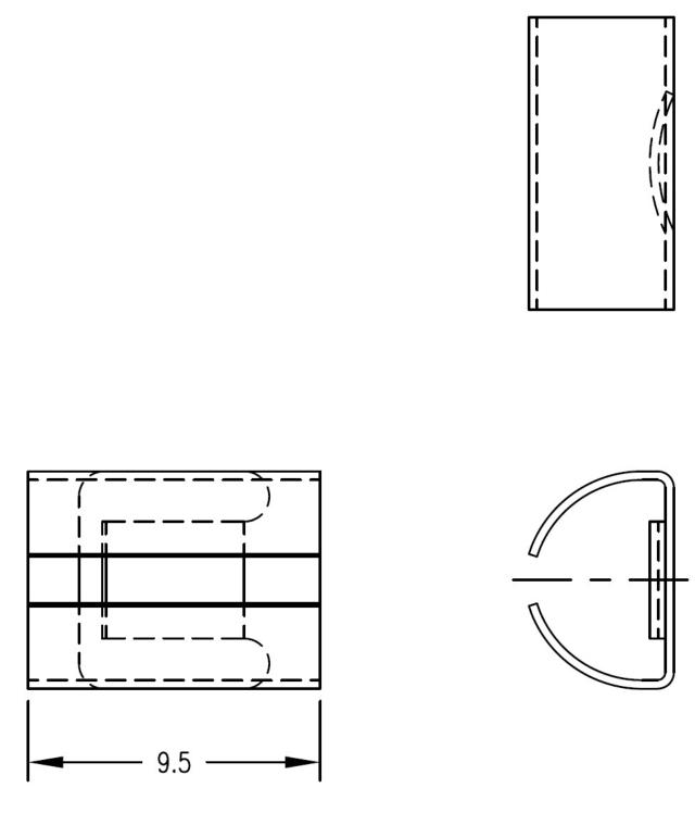 旋鈕彈簧扣件