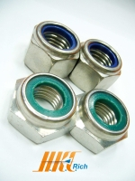 Stainless Steel Nylon Insert Lock Nuts