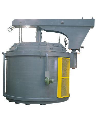 PIT TYPE FOR USE ALUMINUM ALLOY HARDENING & TEMPERING FURNACE