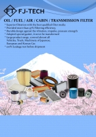 Cens.com OIL FILTER (FILTER FACTORY) FUJITECH MOTOR PARTS CO., LTD.