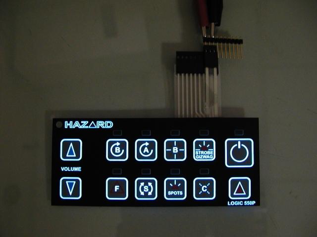 冷光板薄膜按键