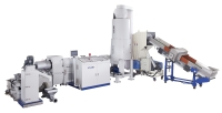 Side Feed Plastic Recycling Machine