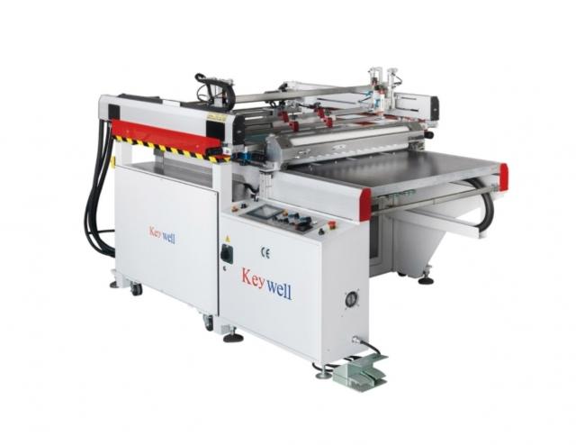 高精密跑台式光电科技网印机