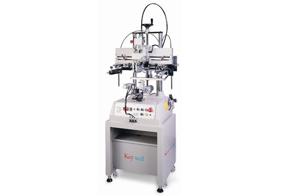 半自动单臂跑台式网印机