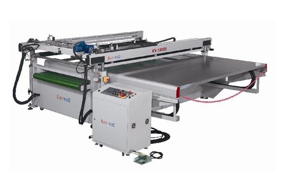 高精密大型跑台式光电科技网印机