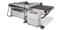 3/4-Auto Four-Post Table Sliding Screen Printing Machine (Side Take-off)